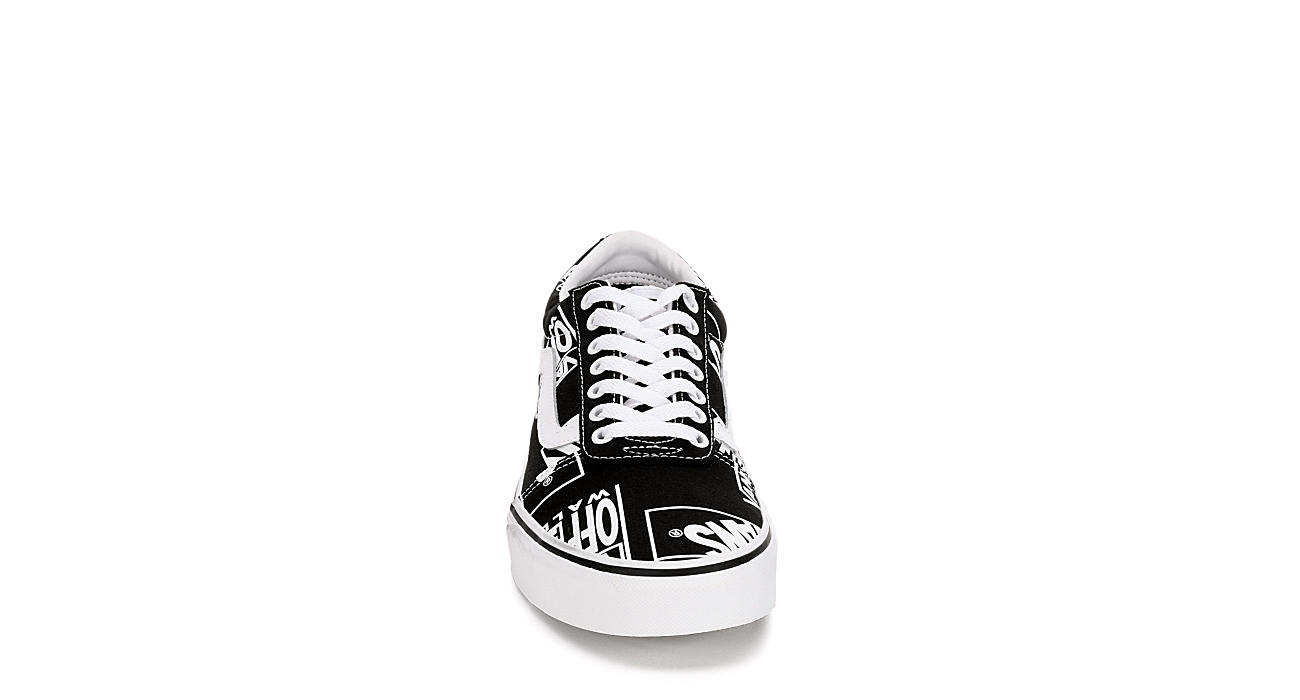 VANS Mens Vans Ward - BLACK