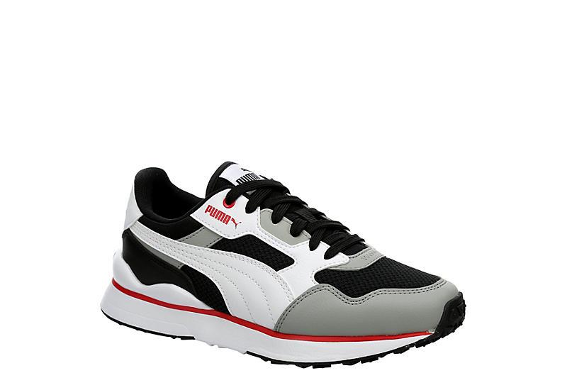 GREY PUMA Boys R78 Future Sneaker