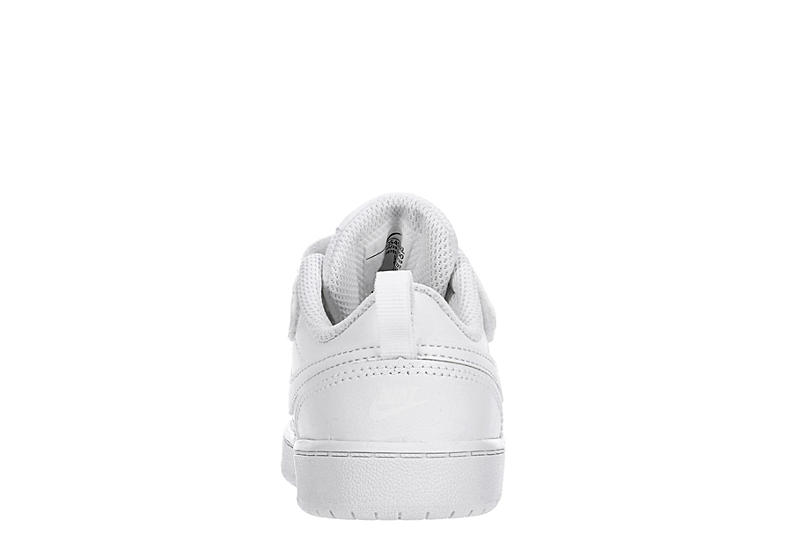 NIKE Boys Infant Court Borough Low 2 Sneaker - WHITE