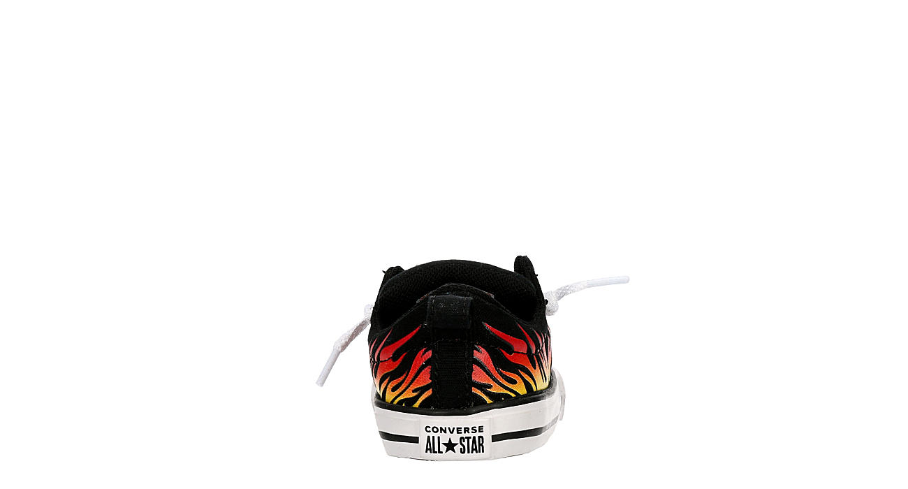 CONVERSE Boys Infant Chuck Taylor All Star Street Ox Sneaker - BLACK