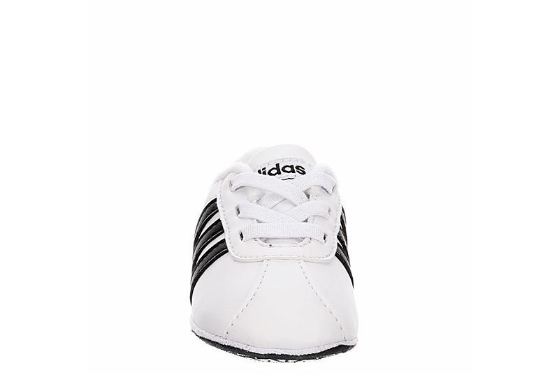 ADIDAS Boys Infant Vl Court Crib Sneaker - WHITE