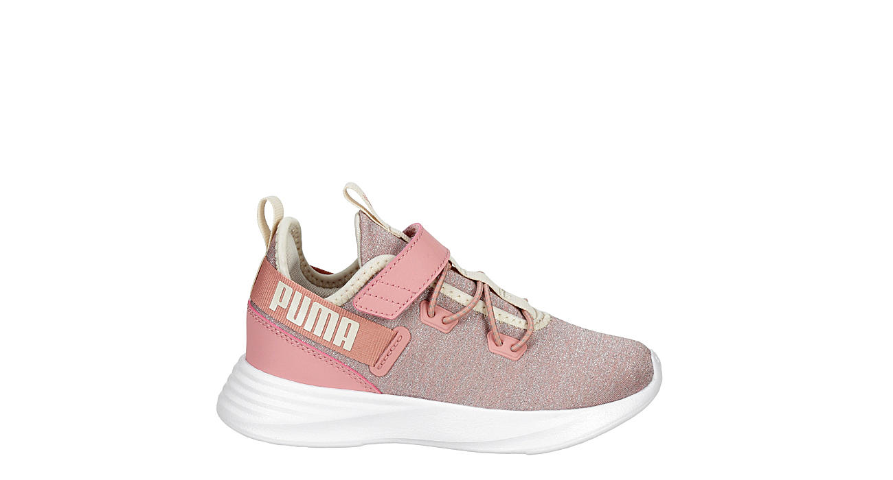 PUMA Girls Infant Throttle Slip On Sneaker - PINK