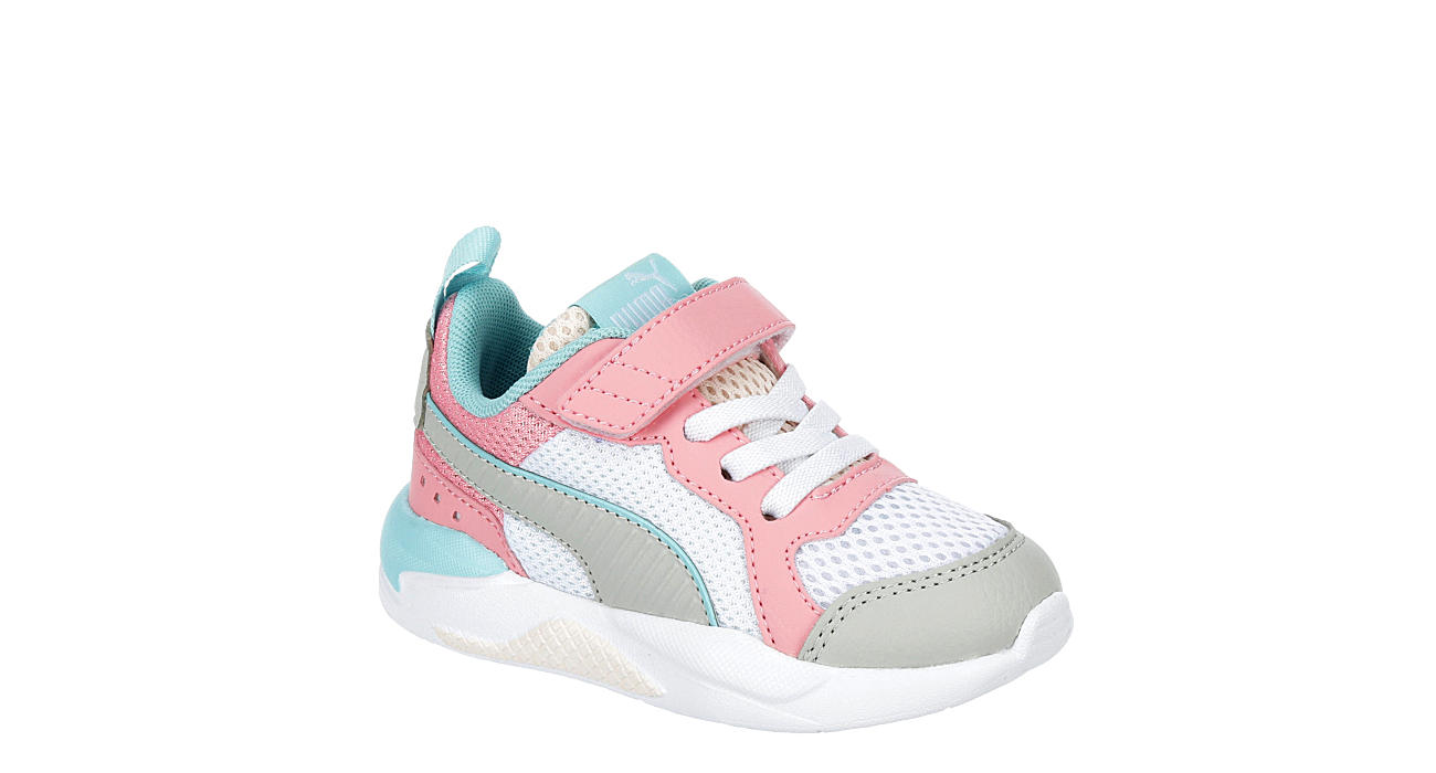 Puma Girls Infant X-ray Slip On Sneaker - White