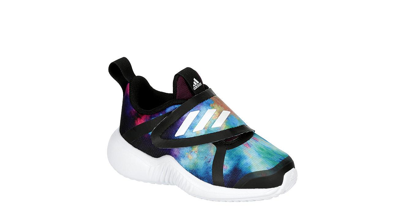 ADIDAS Girls Infant Forta Run X Slip On Sneaker - BLACK