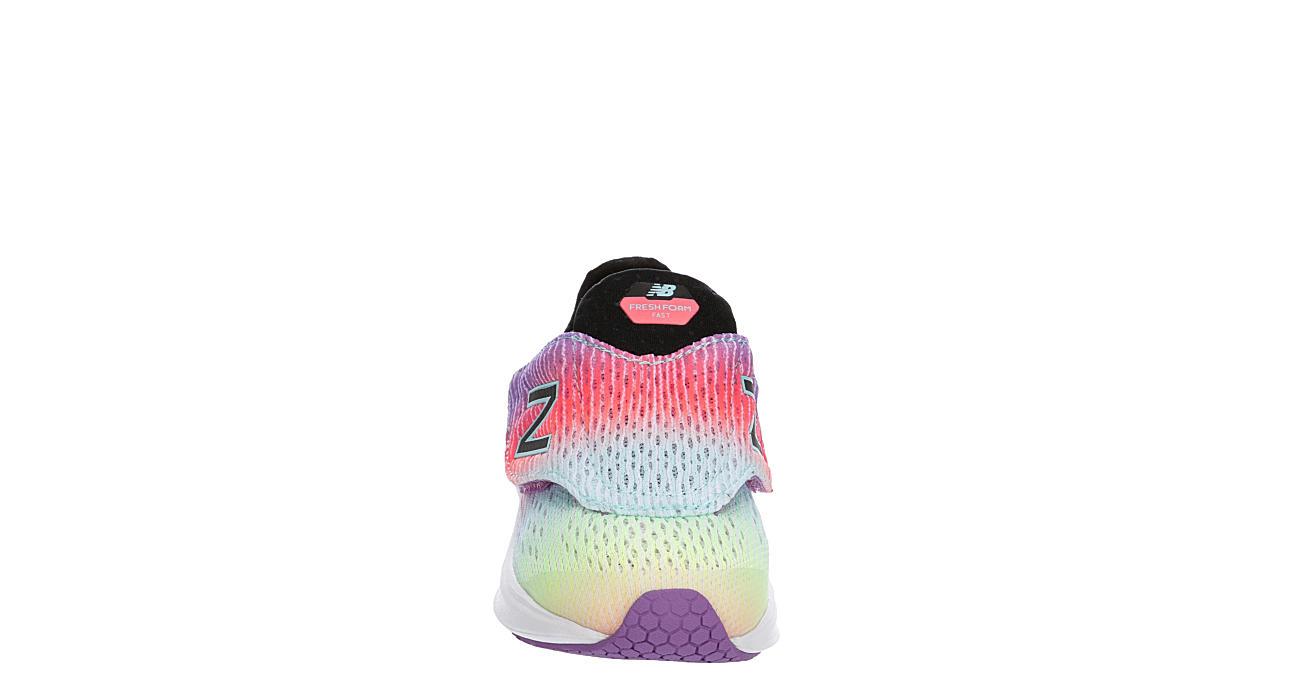 NEW BALANCE Girls Infant Fast Slip On Sneaker - MULTICOLOR