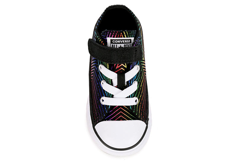 CONVERSE Girls Chuck Taylor All Star All Of The Stars Ox - BLACK