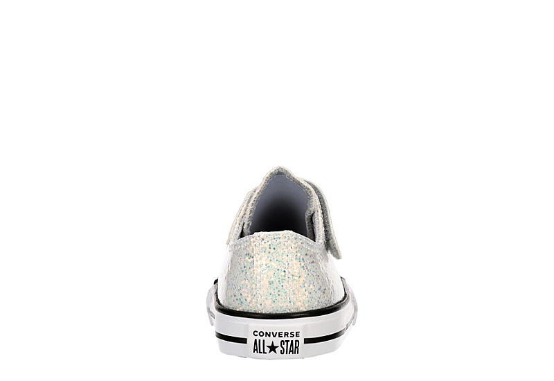 CONVERSE Girls Chuck Taylor All Star Gloss Ox - GREY