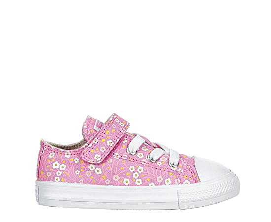 Girls Infant Chuck Taylor All Star Floral Ox Sneaker