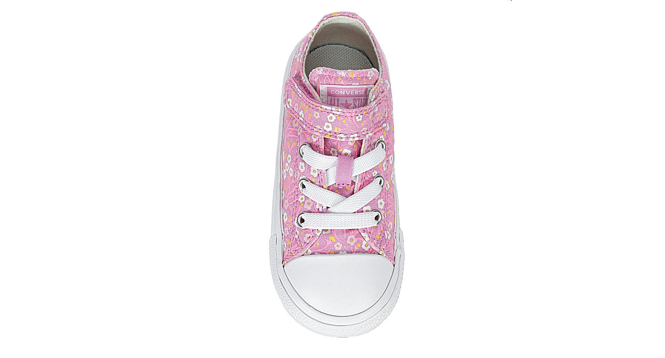 CONVERSE Girls Chuck Taylor All Star Floral Ox - PINK