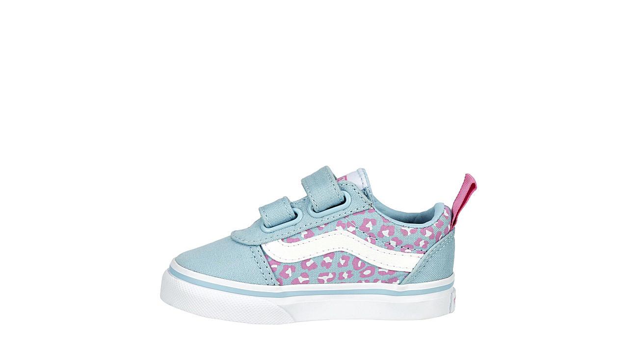 VANS Girls Infant Ward Slip On Sneaker - PALE BLUE