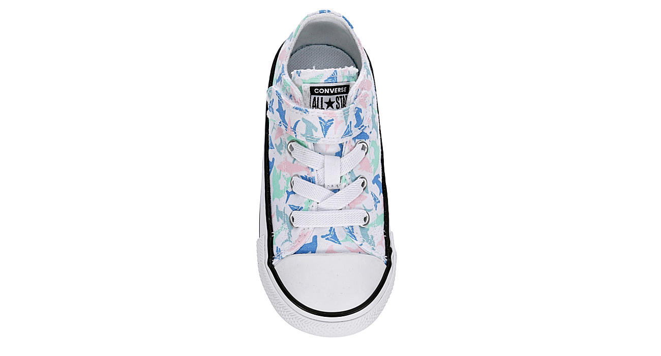 CONVERSE Girls Infant Chuck Taylor All Star Ox Sneaker - WHITE