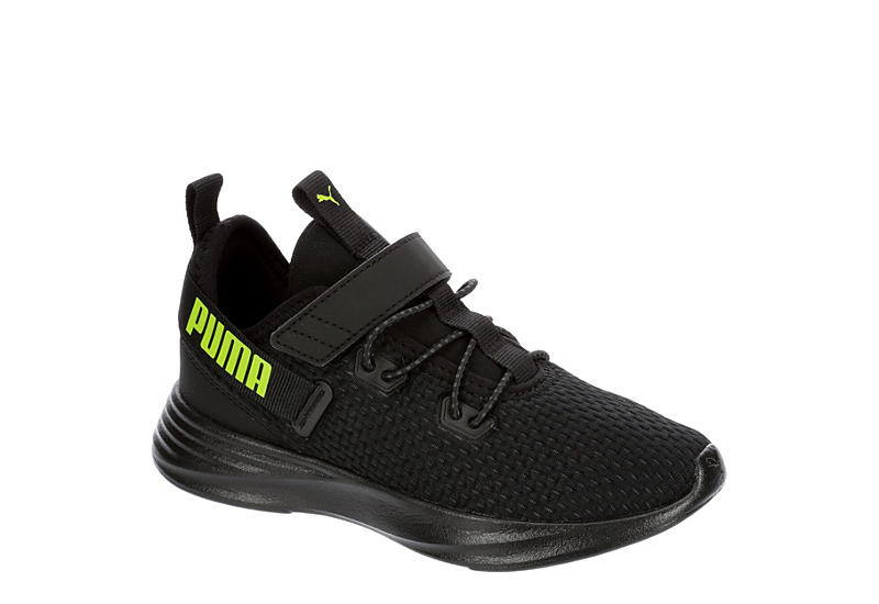 BLACK PUMA Boys Throttle V Ps