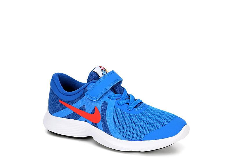 low priced 9f3b9 ab4a1 BLUE NIKE Boys Revolution 4 Ps