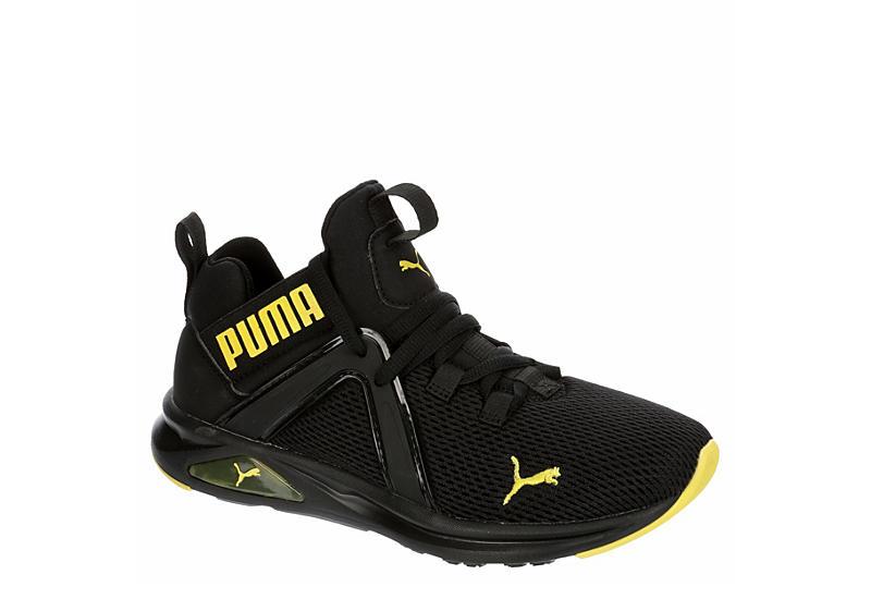 BLACK PUMA Boys Enzo 2 Weave Jr Sneaker