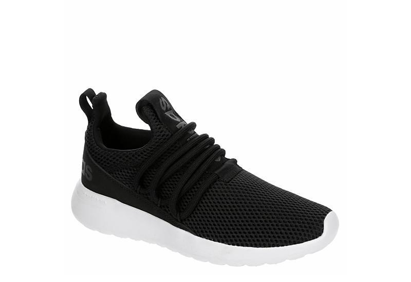 BLACK ADIDAS Boys Lite Racer Adapt 3.0 Slip On Sneaker