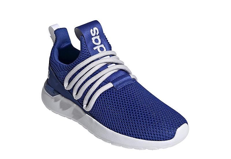 BLUE ADIDAS Boys Lite Racer Adapt 3.0 Slip On Sneaker