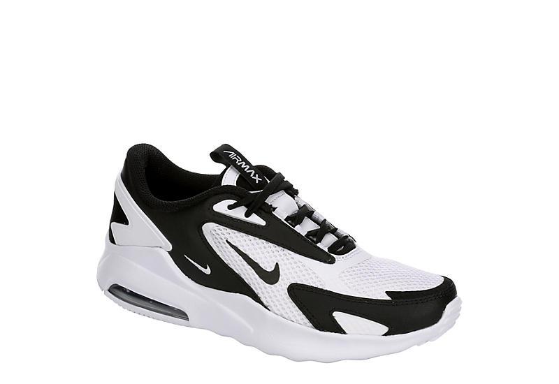 WHITE NIKE Boys Air Max Bolt Sneaker