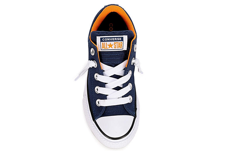 CONVERSE Boys Chuck Taylor All Star Street Slip On Sneaker - NAVY