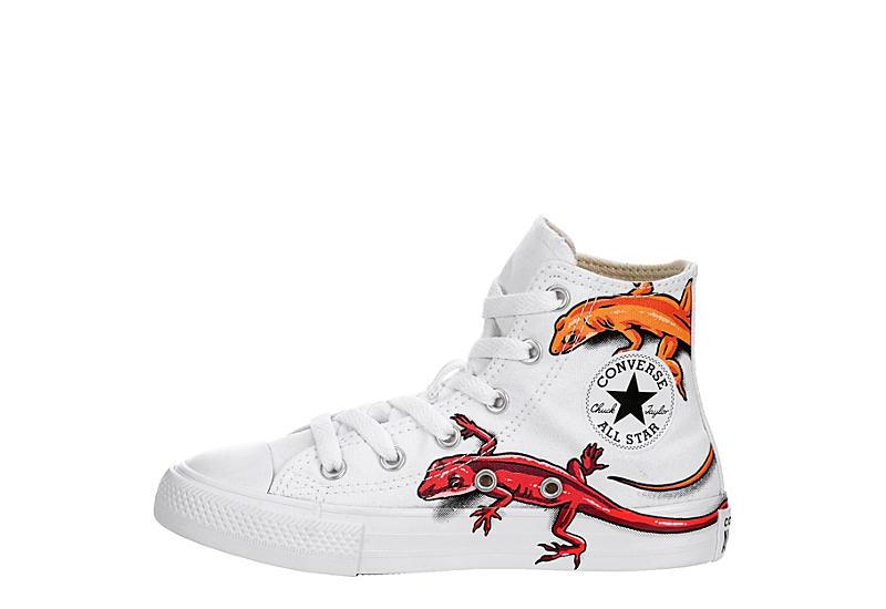 CONVERSE Boys Chuck Taylor All Star Hi - WHITE