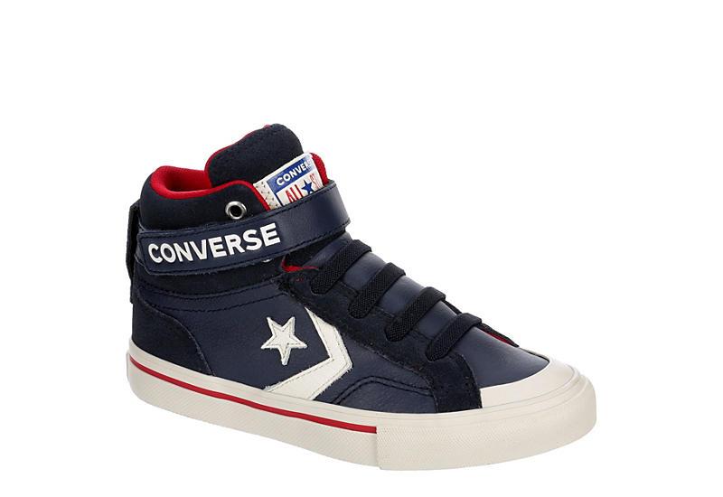 NAVY CONVERSE Boys Pro Blaze Sneaker