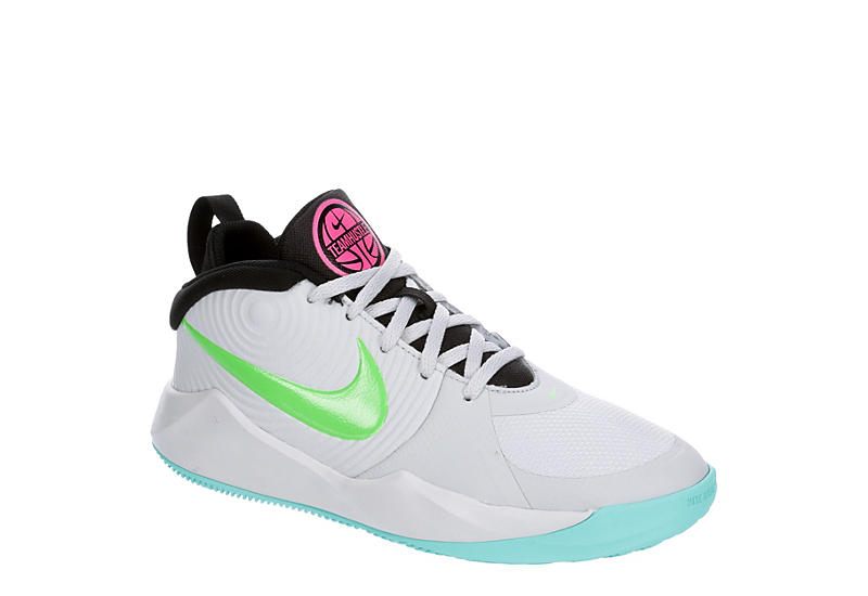 Higgins Abstracción Pera  Grey Nike Boys Team Hustle D9 Basketball Shoe | Athletic | Rack Room Shoes