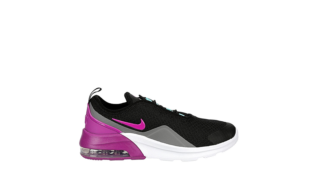 NIKE Girls Air Max Motion 2 Sneaker - BLACK