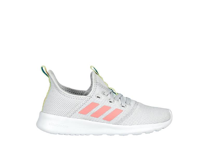 Adidas Girls Cloudfoam Pure Sneaker - Grey