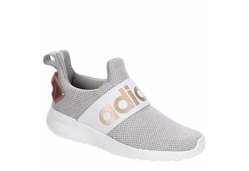 WHITE ADIDAS Girls Racer Adapt Sneaker