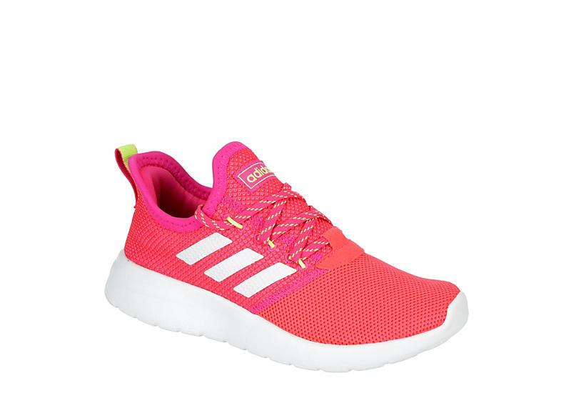 PINK ADIDAS Girls Lite Racer Rbn Sneaker