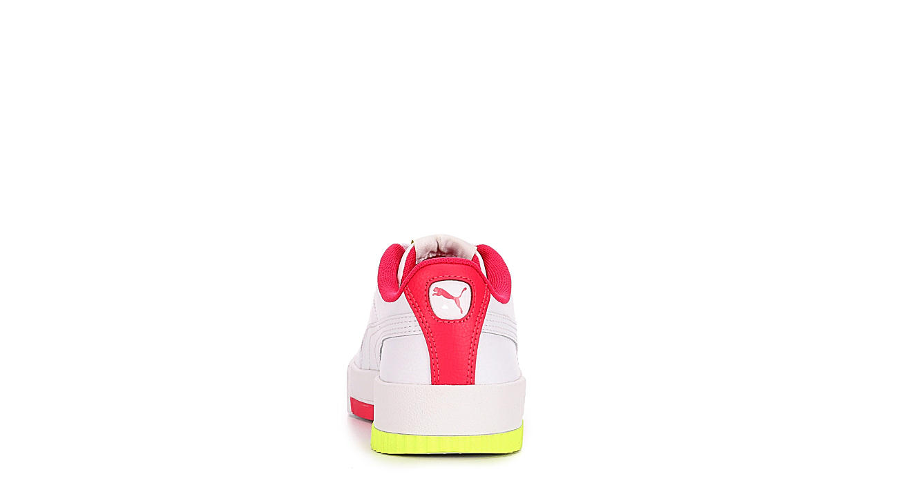 PUMA Girls Carina L Jr - WHITE