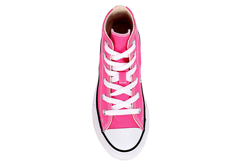 CONVERSE Girls Chuck Taylor All Star Hi - PINK