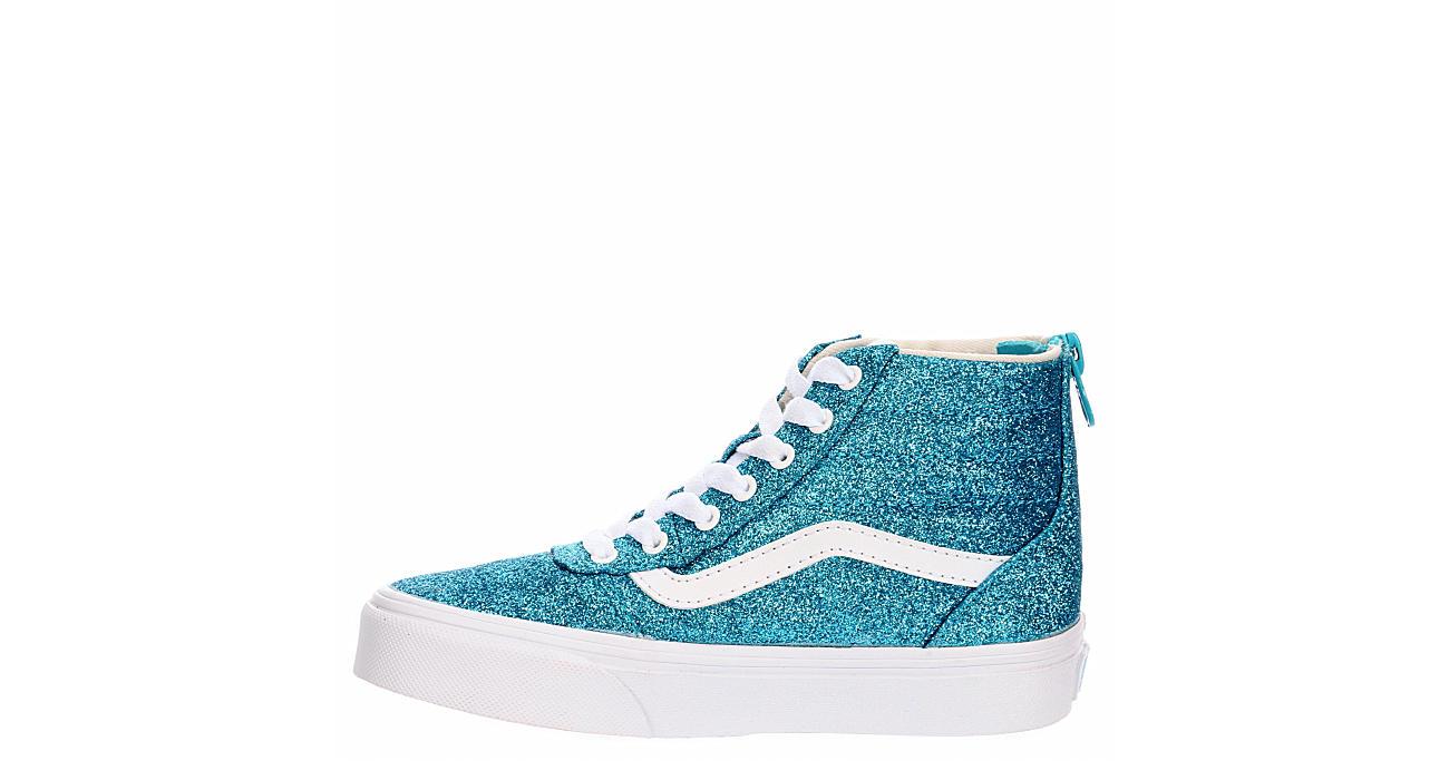VANS Girls Ward Hi Top Sneaker - BLUE