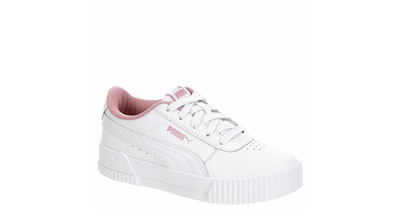 PUMA Girls Carina L Ps - WHITE