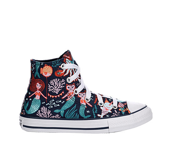Girls Chuck Taylor All Star Mermaid Hi Sneaker