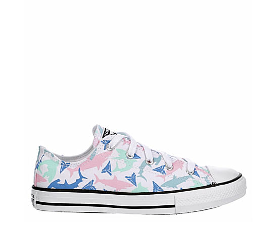 Girls Chuck Taylor All Star Shark Bite Ox