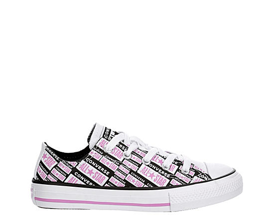 Girls Chuck Taylor All Star License Plate Ox