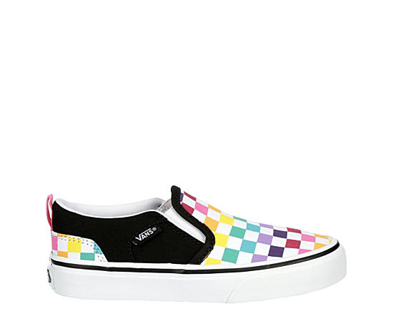 Girls Asher Checkerboard
