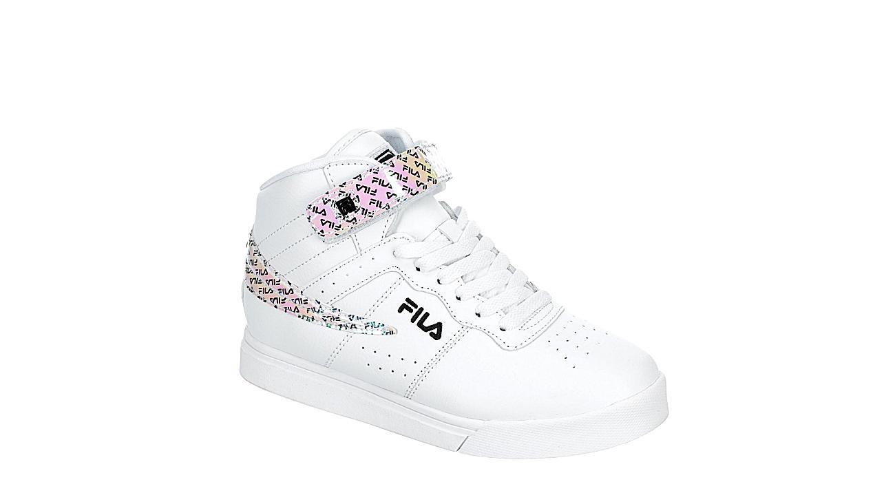 FILA Girls Vulc 13 Mid - WHITE