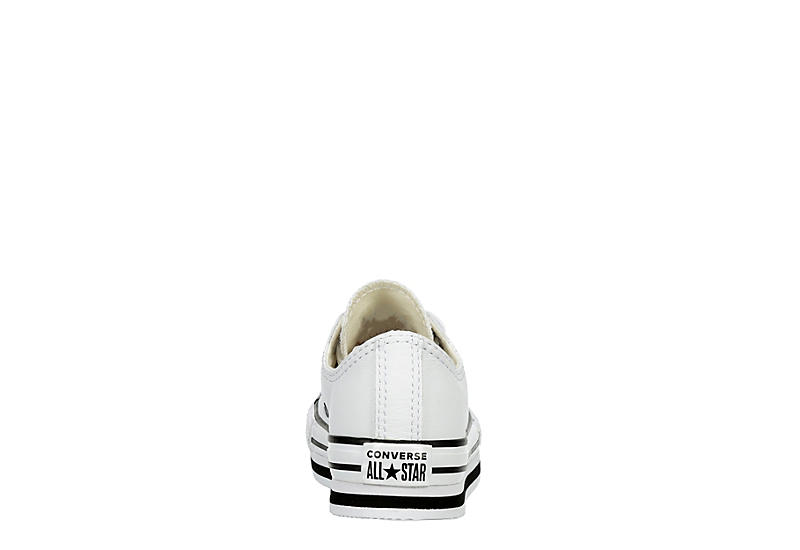 CONVERSE Girls All Star Lo Lift - WHITE
