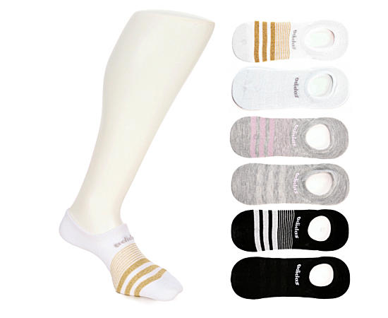 Womens 6 Pack Superlite Super No Show Sock