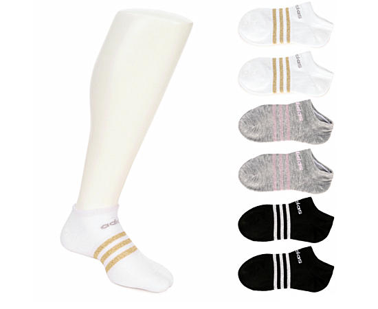 Womens 6 Pack Superlite No Show Sock