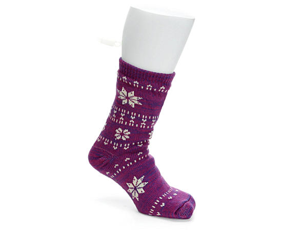 Womens Sherpa Slipper Sock