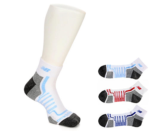 Mens 3 Pack Performance Ankle