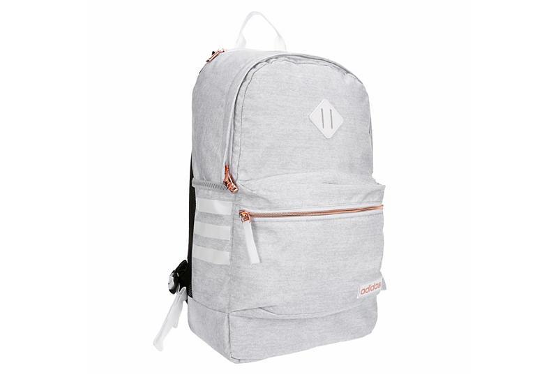 WHITE ADIDAS Womens Classic 3s Iii Backpack