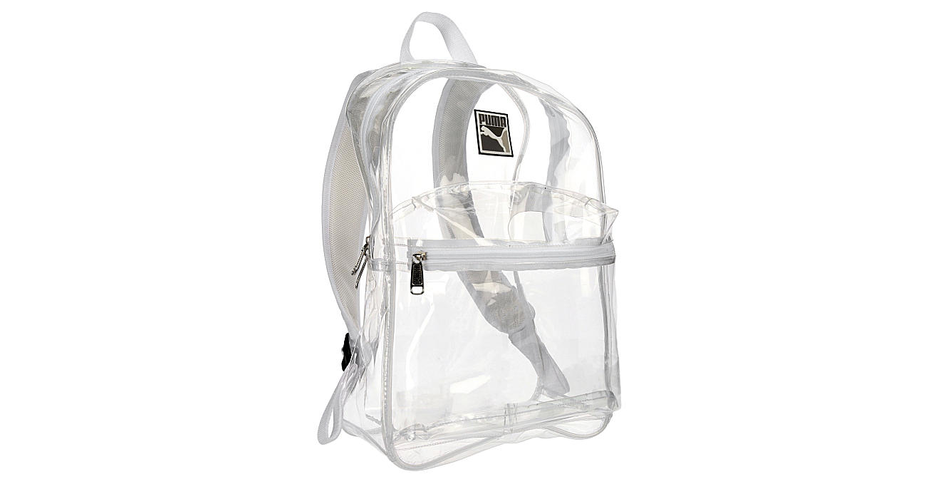 PUMA Unisex Total Clear Backpack - WHITE