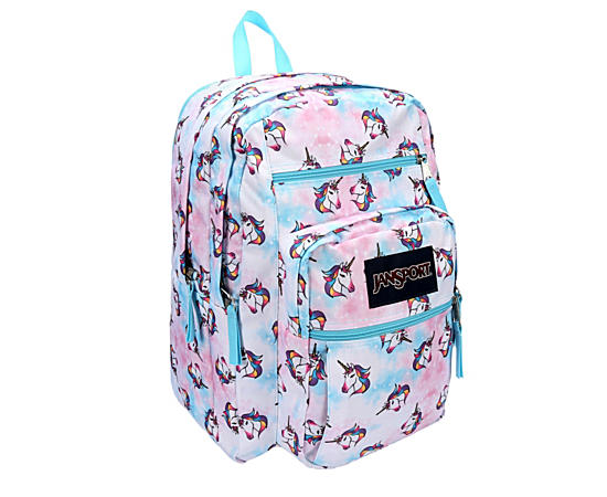 Womens Big Student Unicorn Cloud Backpack