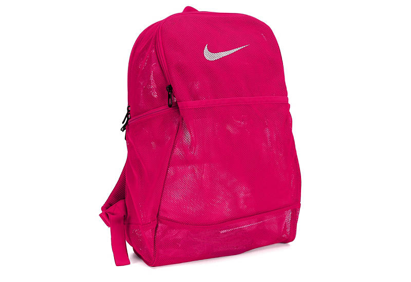 f6e1943bf475f Pink Nike Womens Brasilia Mesh Backpack | Accessories | Rack Room Shoes
