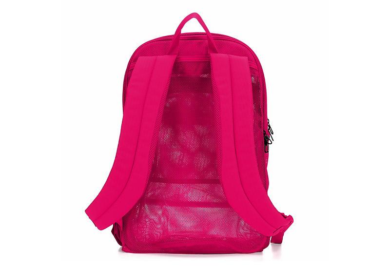 NIKE Womens Brasilia Mesh Backpack - PINK