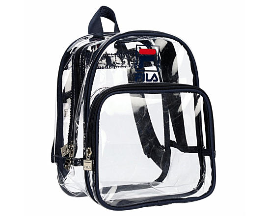 Womens Eleanor Clear Mini Backpack