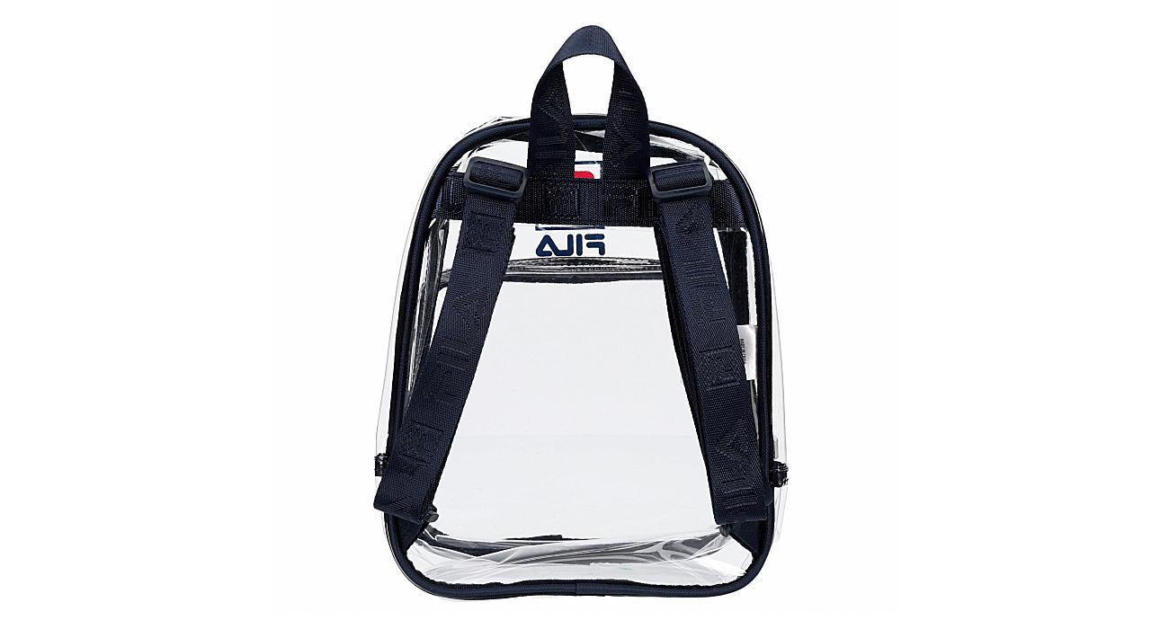 FILA Womens Eleanor Clear Mini Backpack - NAVY